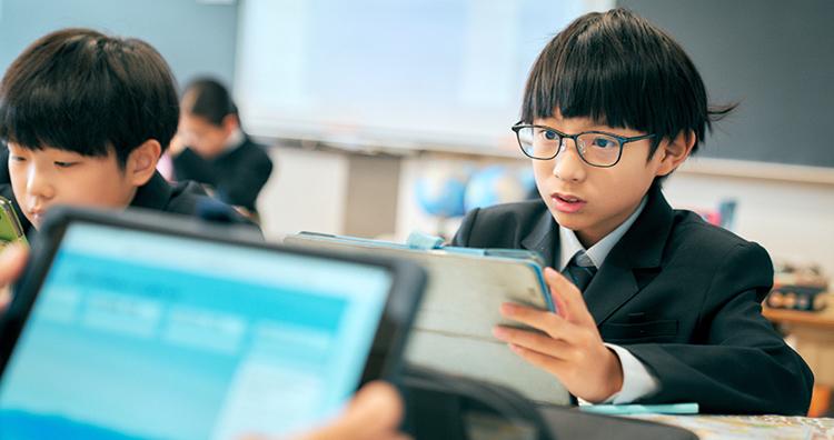 1年生から1人1台iPad